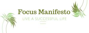 What is The Focus Manifesto